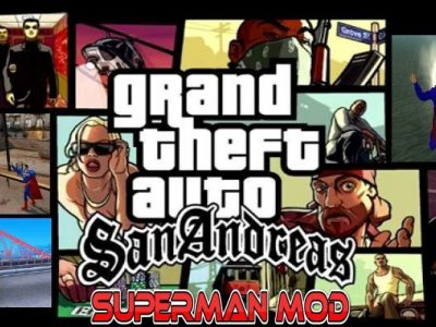 GTA San Andreas Superman MOD