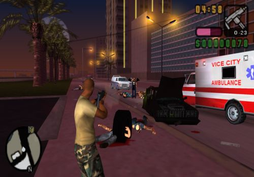 GTA vicre city screenshot, poster , cover , images, photos